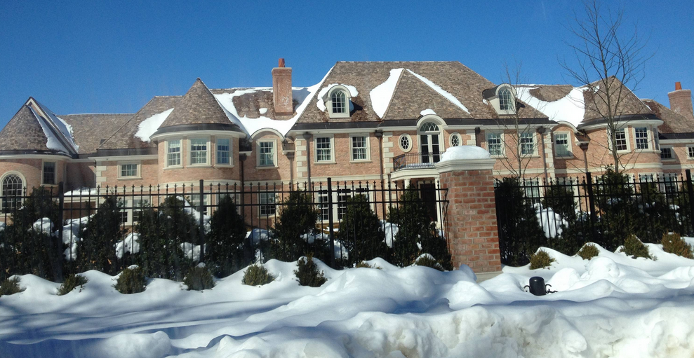 Newly Built Mega Mansion In Gladwyne, PA | Homes of the Rich