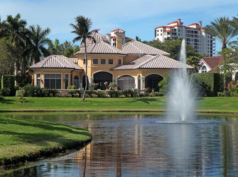 $6.775 Million Lakefront Mediterranean Mansion In Naples, FL