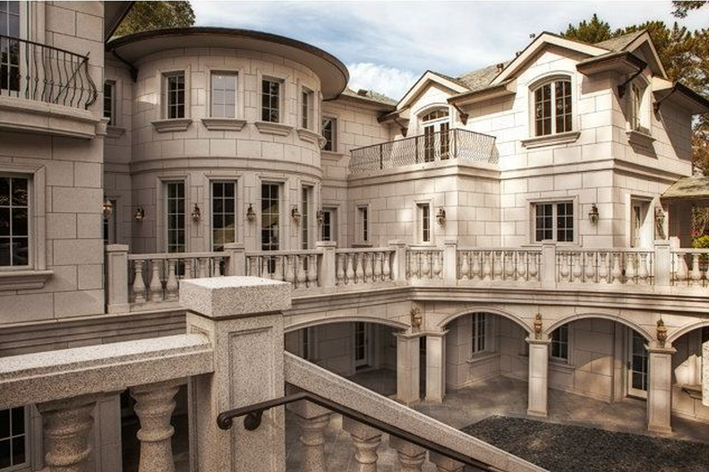12 3 Million Palladian Style Mansion In Atherton Ca