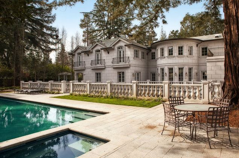 $12.3 Million Palladian Style Mansion In Atherton, CA