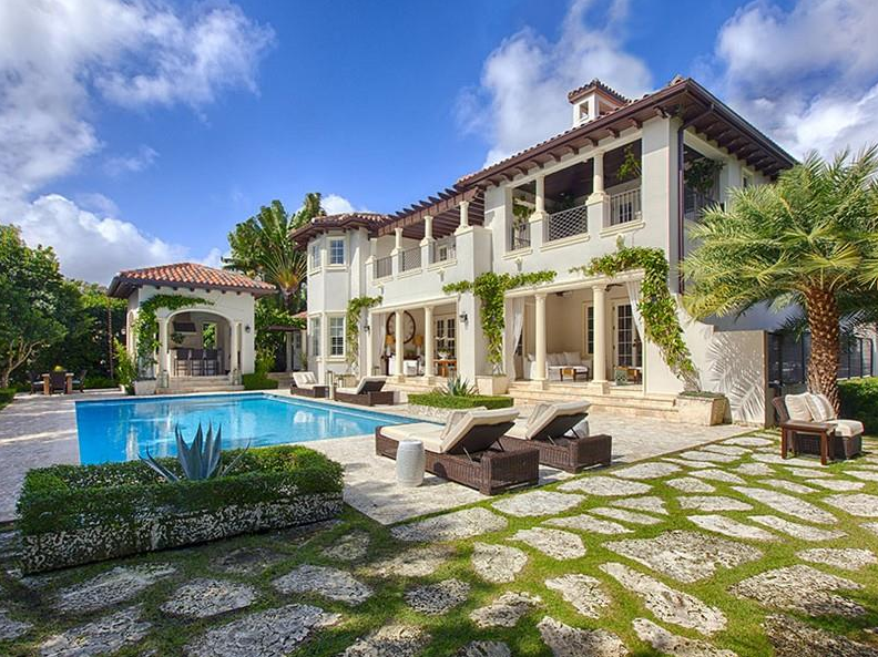 $8.9 Million Italian Inspired Mansion In Coral Gables, FL