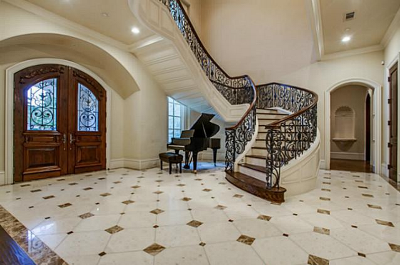 5 95 Million French Inspired Stone Mansion In Frisco Tx