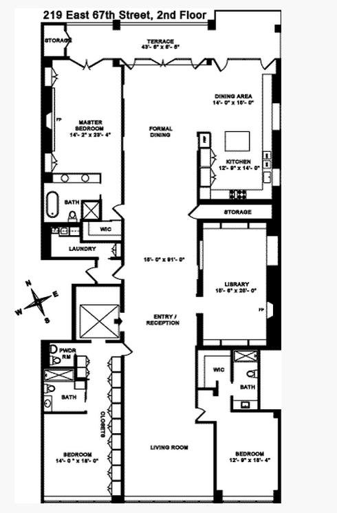$9.5 Million Full Floor Condo In New York, NY