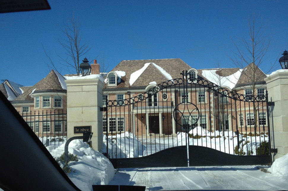 Newly Built Mega Mansion In Gladwyne Pa Homes Of The Rich