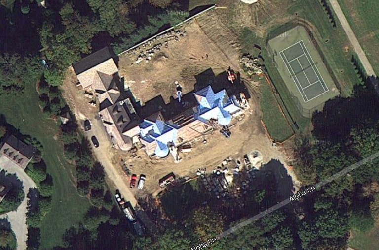 Newly Built Mega Mansion In Gladwyne, PA