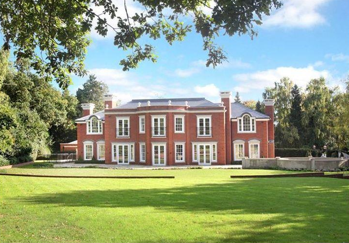 $18 Million Newly Built Brick Mansion In England
