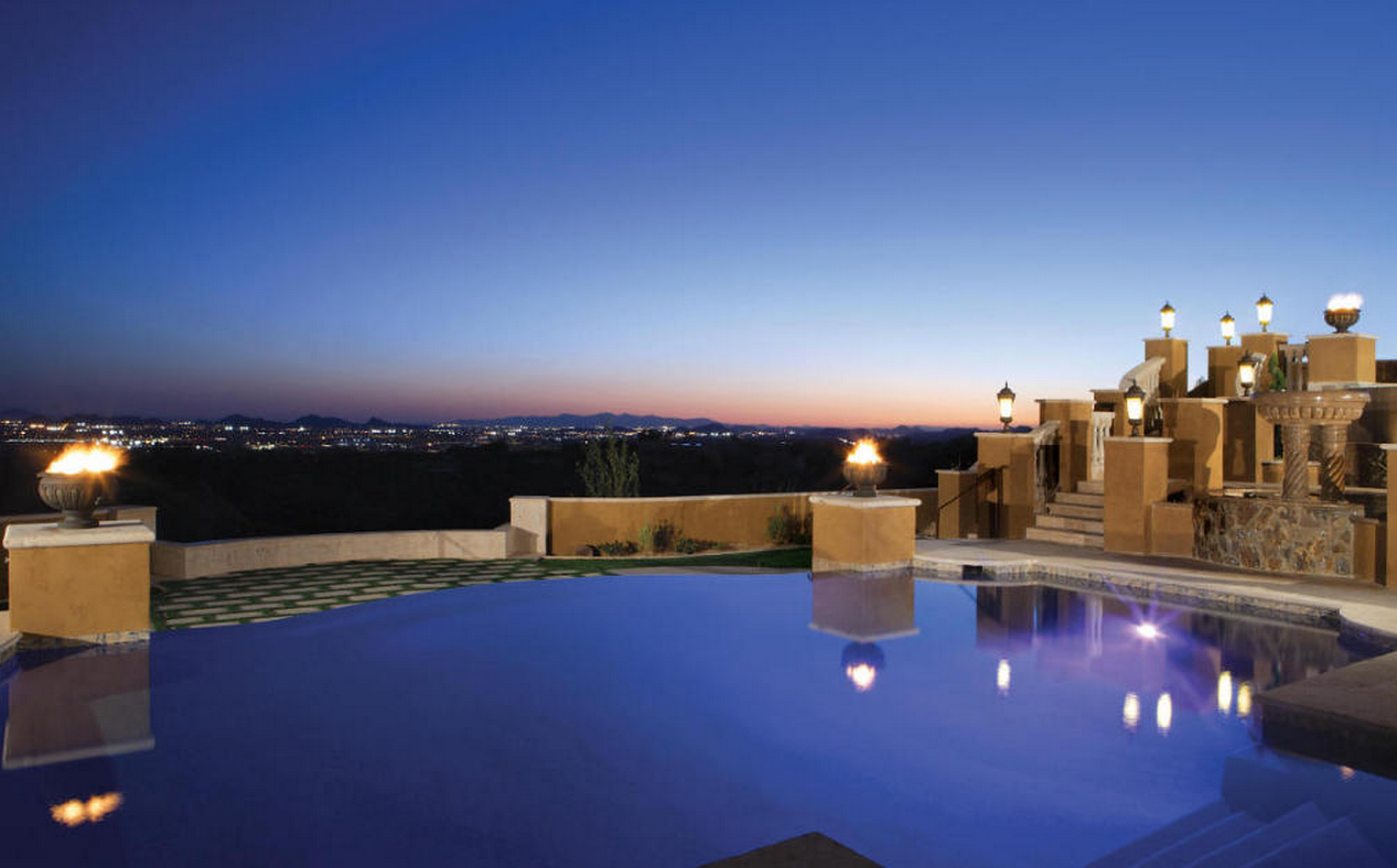 $7.95 Million Tuscan Mansion In Scottsdale, AZ