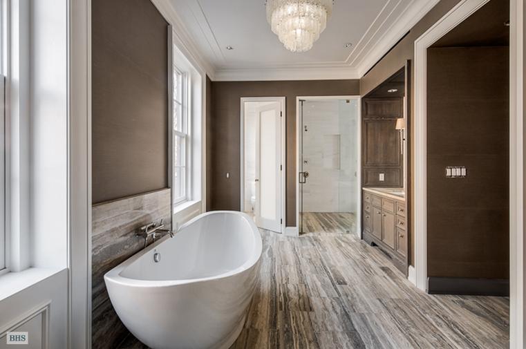 30 Million Greek Revival Townhouse In New York Ny on Master Bathroom Floor Plans