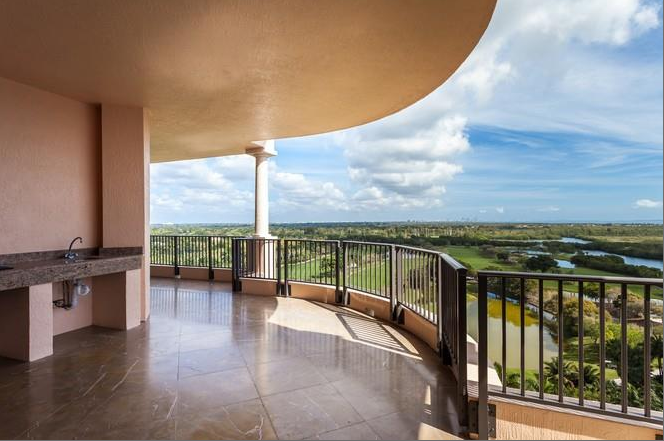 $6.5 Million 2-Story Penthouse In Coral Gables, FL