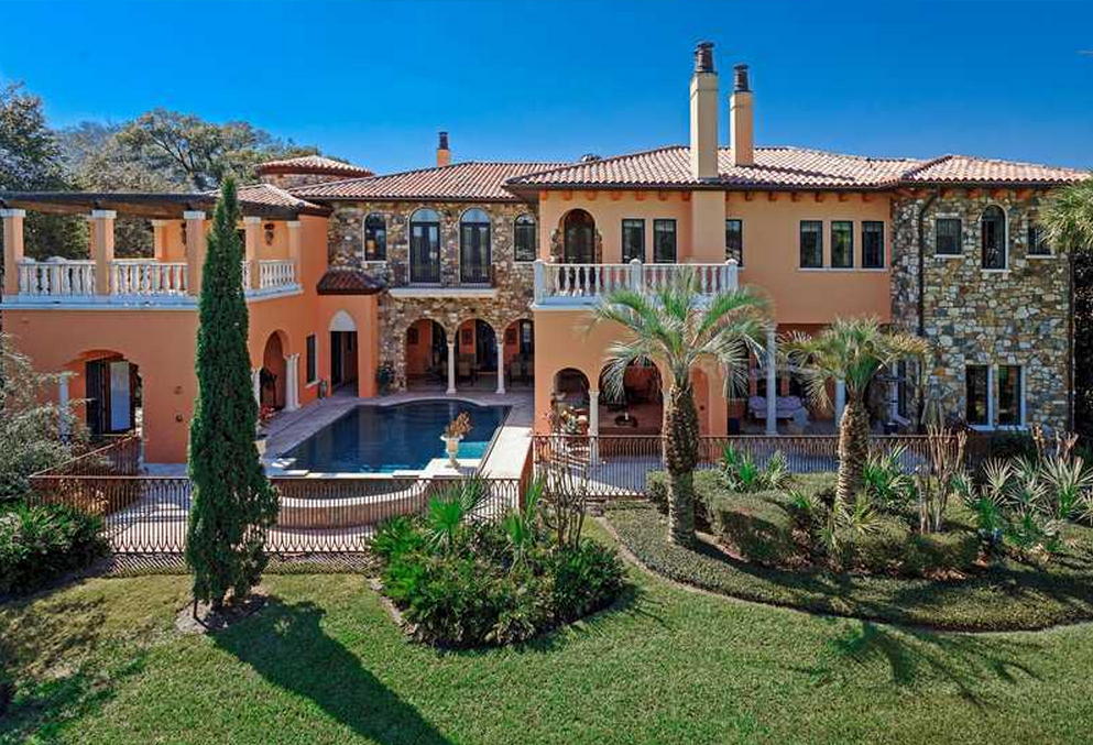 $2.8 Million Newly Listed Mediterranean Mansion In Orlando, FL