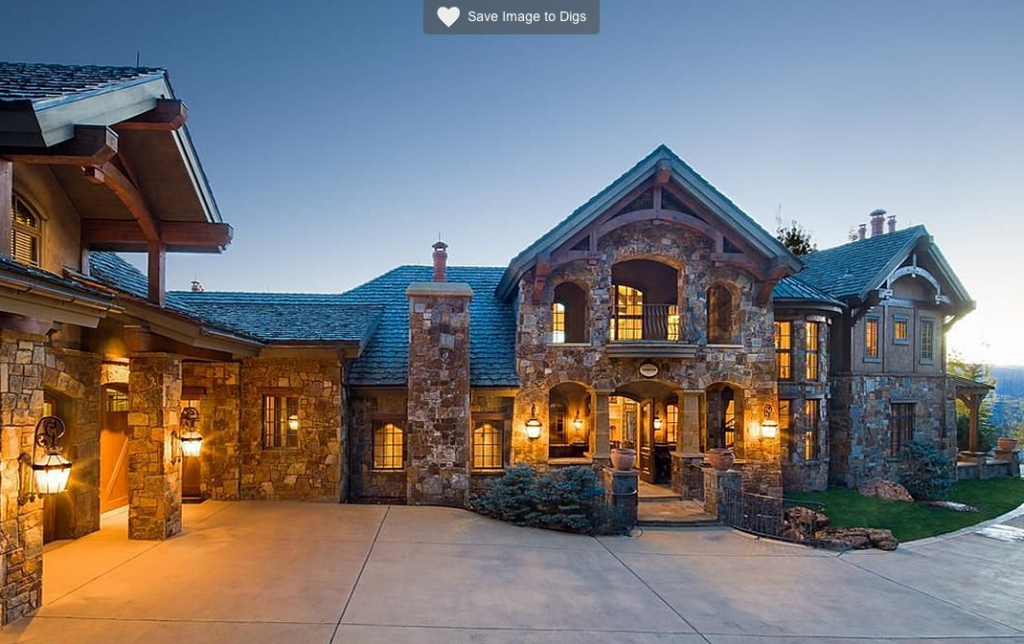 Chateau elan a 12 9 million stone home in aspen co for Celebrity homes in aspen