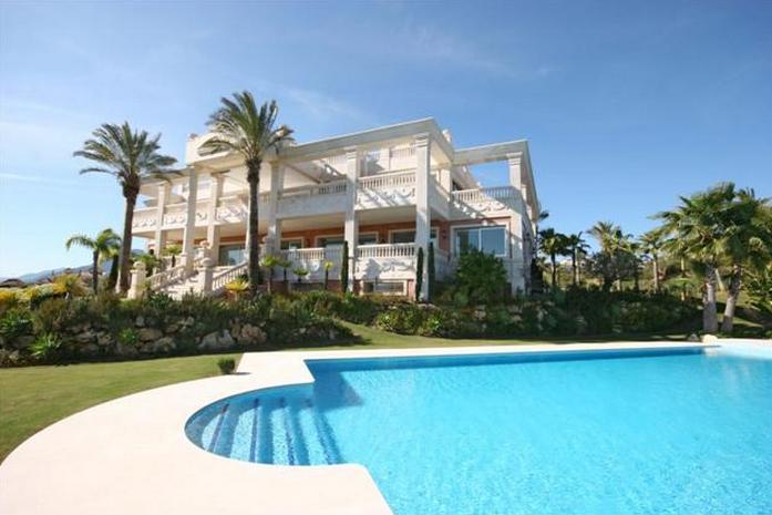 28,000 Square Foot Mega Mansion In Marbella, Spain