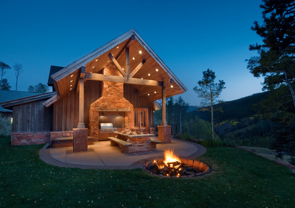 Look Some Fire Pits From Houzz Homes The Rich