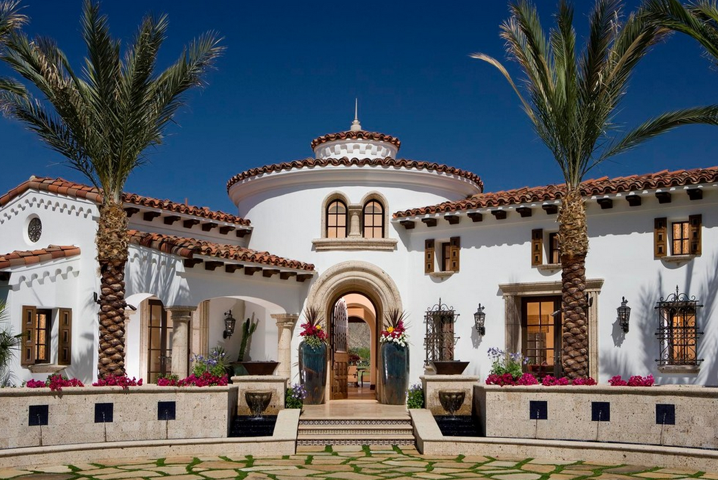 Stunning Spanish Style Home By South Coast Architects