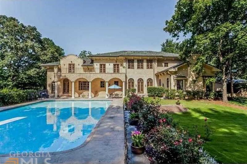 $2.6 Million Mediterranean Estate In Atlanta, GA