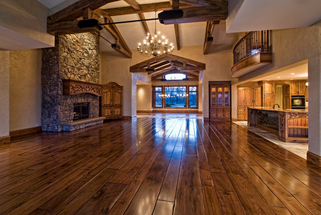 Rustic elegance in boise idaho homes of the rich the for Rustic elegant homes