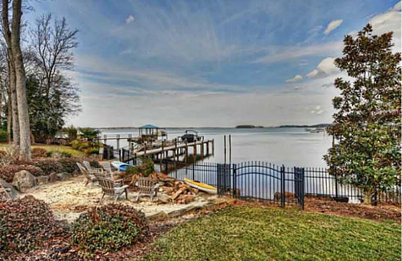 $4.95 Million Waterfront Mediterranean Mansion In Cornelius, NC