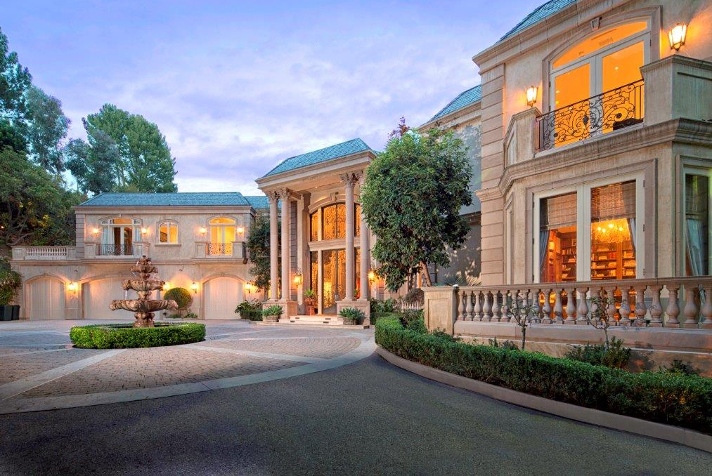 $21 Million Newly Listed French Mansion In Beverly Hills, CA