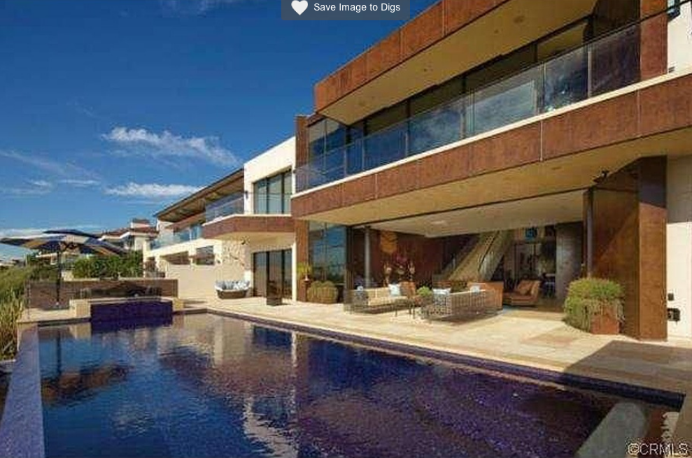 $22 Million Contemporary Mansion In Corona Del Mar, CA