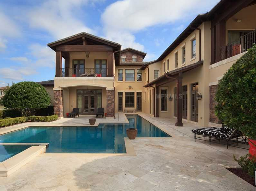 Million golf club mansion in orlando fl homes of for Floridian homes