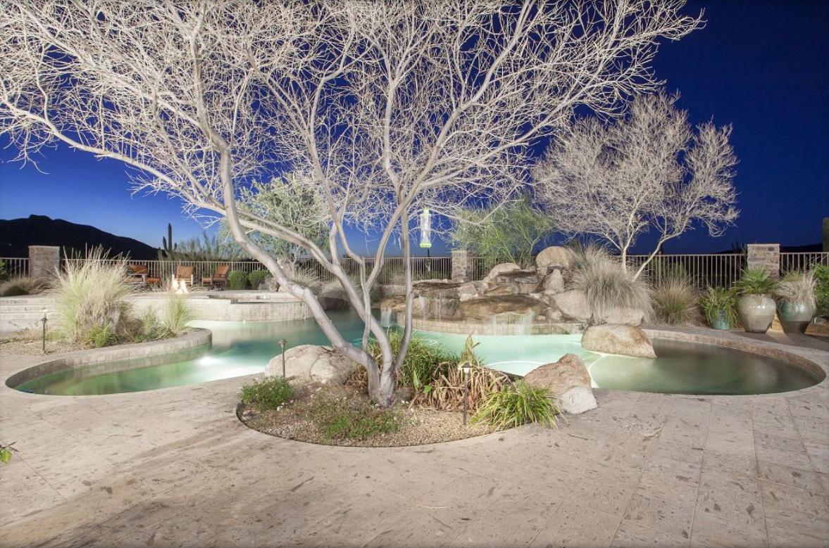 8 Acre Old World Estate In Scottsdale, AZ
