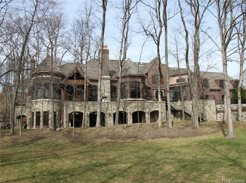 16,000 Square Foot Tudor Mansion In Bloomfield Township, MI