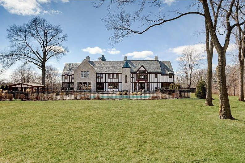 $5.35 Million Renovated Stone Mansion In Dublin, OH