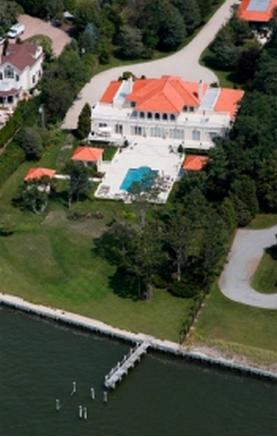 $10.995 Million Mediterranean Bayfront Estate In Remsenburg, NY