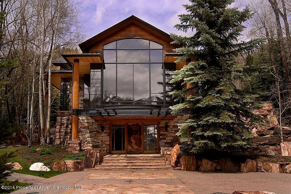 million rustic contemporary mansion in aspen co