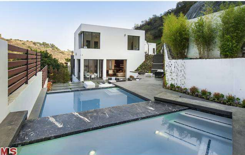 $7.995 Million Newly Built Contemporary Mansion In Beverly Hills, CA