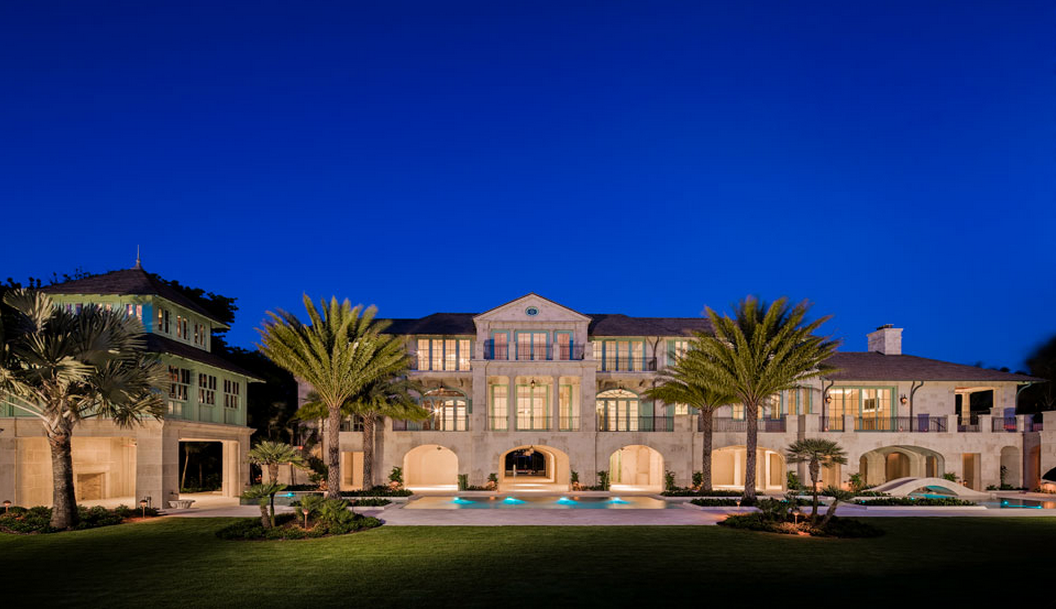 60 Million Newly Built Beachfront Estate In Naples Fl Homes Of The Rich