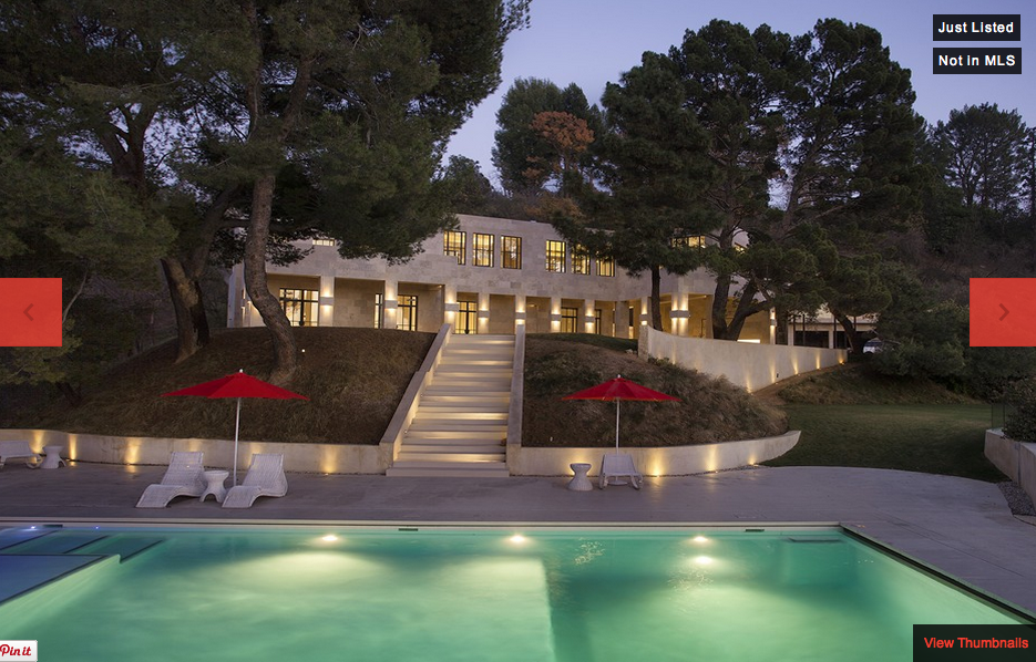 $12.5 Million Contemporary Estate In Bel Air, CA