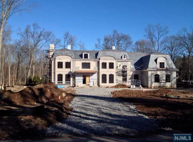 13,000 Square Foot French Inspired New Build In Saddle River, NJ