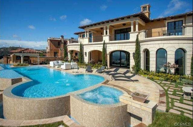 $22.5 Million Newly Built Mediterranean Mansion In Newport Coast, CA