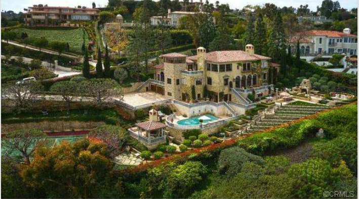 $14.9 Million Italian Villa In Palos Verdes Estates, CA