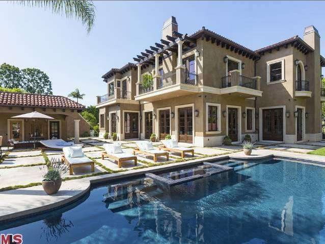 $13.8 Million Newly Built Mediterranean Mansion In Beverly Hills, CA