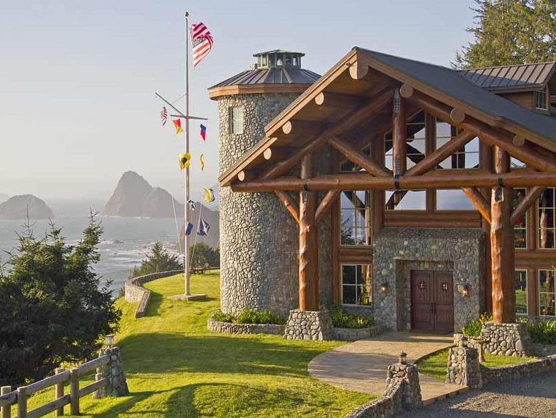 15 9 Million 28 Acre Waterfront Estate In Gold Beach Or