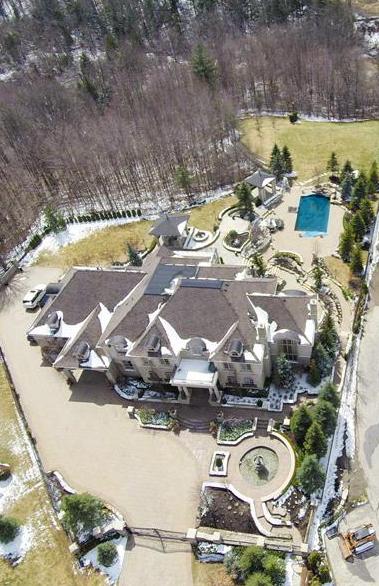 4.5 Acre Gated Estate In Ontario, Canada