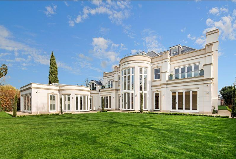 Leyton House A 10 000 Square Foot Palladian Mansion In