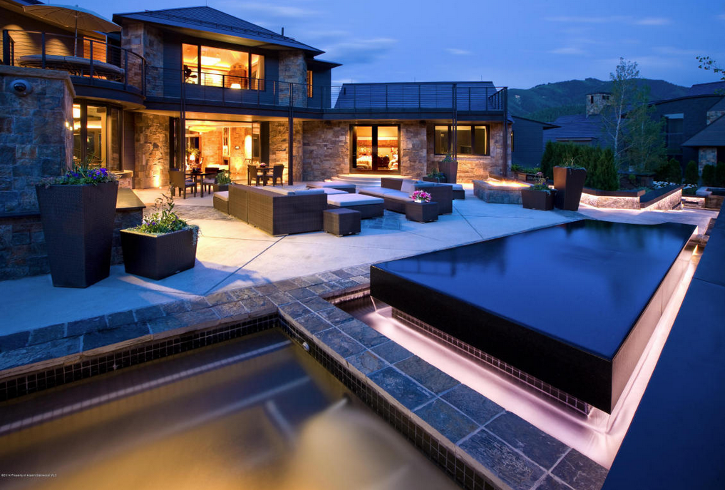 13 95 Million Mountaintop Contemporary Mansion In Aspen