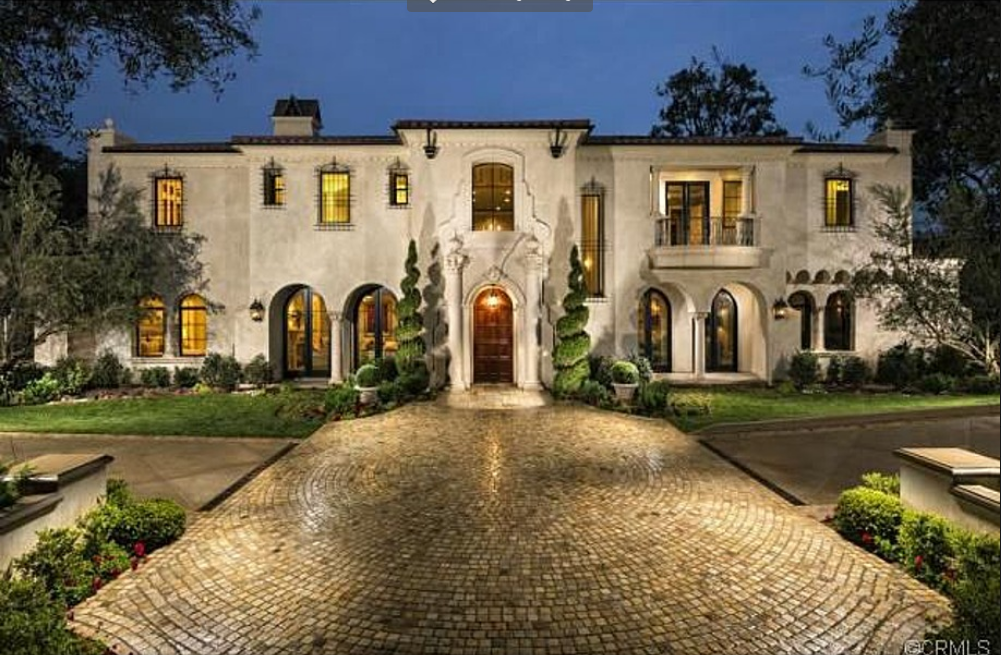 8 2 million newly built italian inspired mansion in for Tuscan california