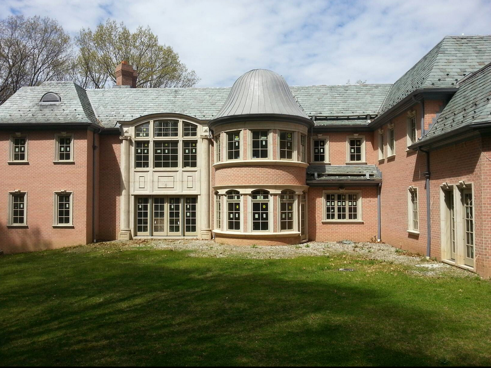 17,000 Square Foot Newly Built Brick Mansion In Saddle River, NJ