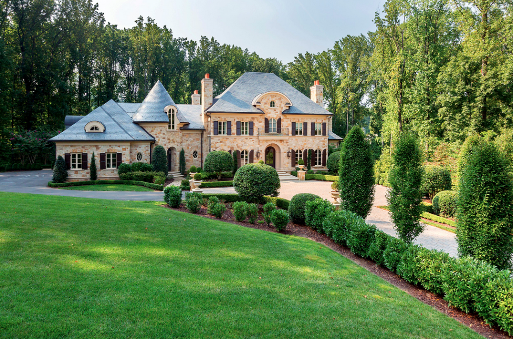 . million european stone mansion in mclean, va  homes of the, Luxury Homes