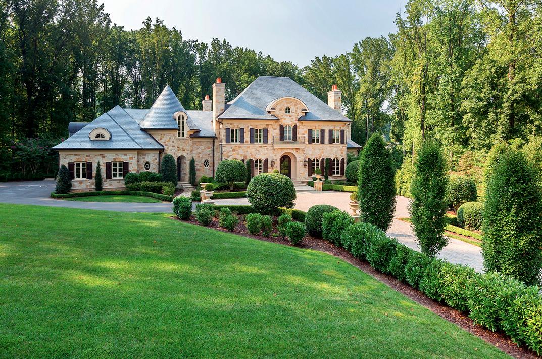 8 495 Million European Stone Mansion In Mclean Va