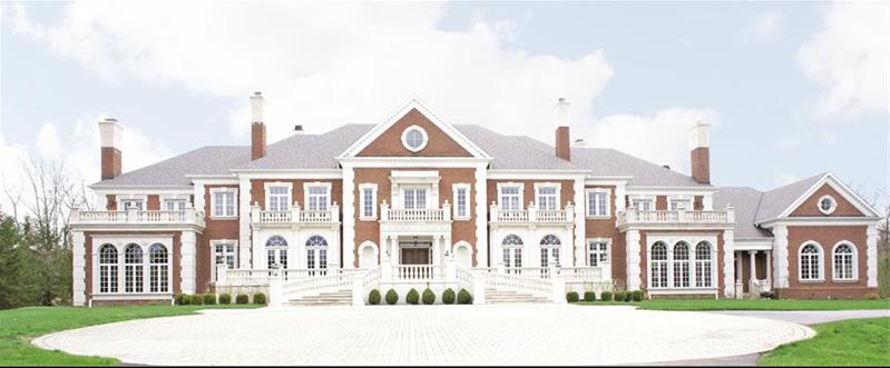 20 000 square foot stately brick mansion in cincinnati oh homes of the rich
