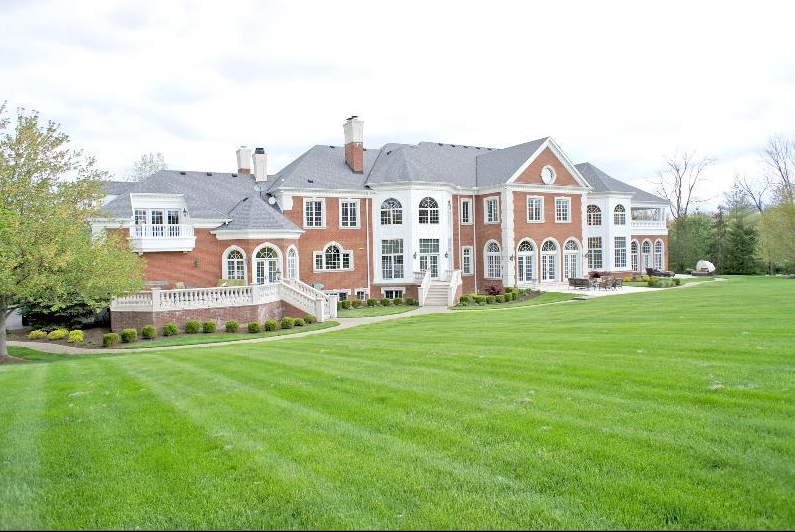 20,000 Square Foot Stately Brick Mansion In Cincinnati, OH