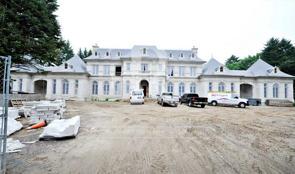 40 000 square foot newly built mega mansion in mississauga for New homes in ontario canada