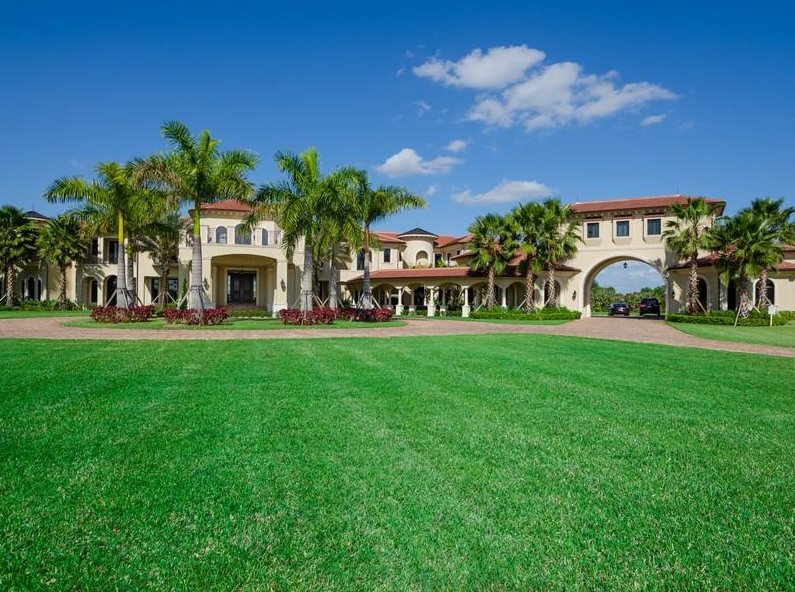 $12.9 Million 25,000 Square Foot Mega Mansion In Southwest Ranches, FL
