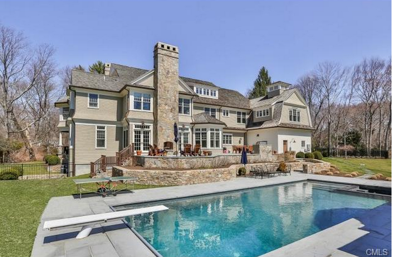 Two $5.15 Million Colonial Mansions In Westport, CT