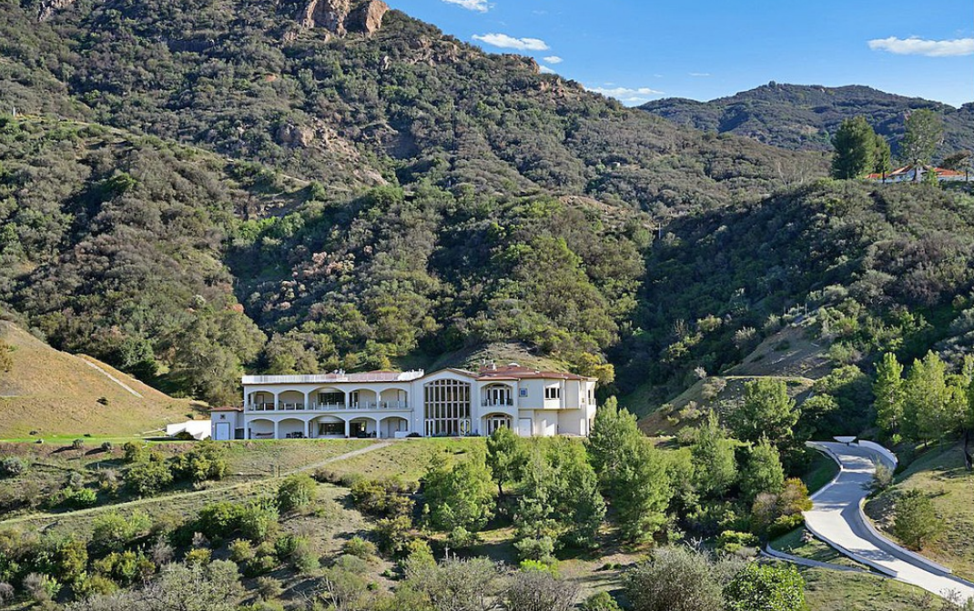 Million Mountaintop Mansion Agoura Hills